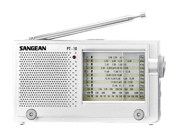 Sangean FM-Stereo / AM / LW / SW 1-9 World Receiver PT-10