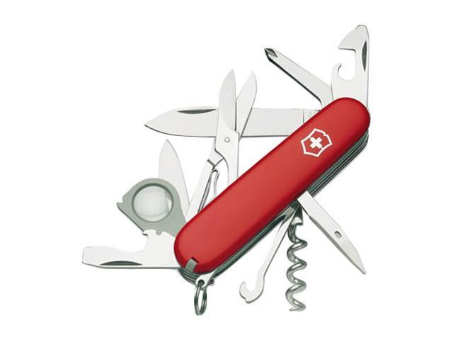 VICTORINOX  53791  Swiss Army Explorer Multi-Tool (Red)
