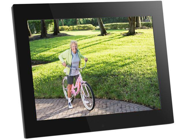 "Aluratek ADMPF315F 15"" High Resolution Digital Photo Frame with 2GB Built-In memory with Remote 1024 x 768"