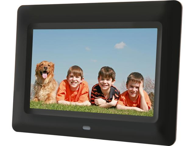 aluratek adpf07sf 7 800 x 600 digital photo frame - Electronic Picture Frame