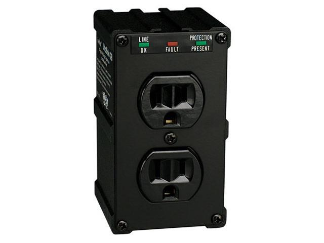 TRIPP LITE ULTRABLOK Wall Mount 2 Outlets 1410 joules Direct Plug-in Isobar Surge Suppressor