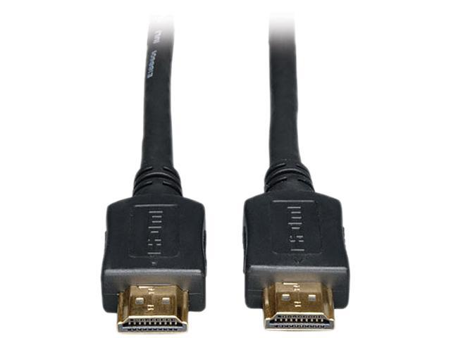 Tripp Lite High Speed HDMI Cable, Ultra HD 4K x 2K, Digital Video with Audio (M/M), Black, 35-ft. (P568-035)