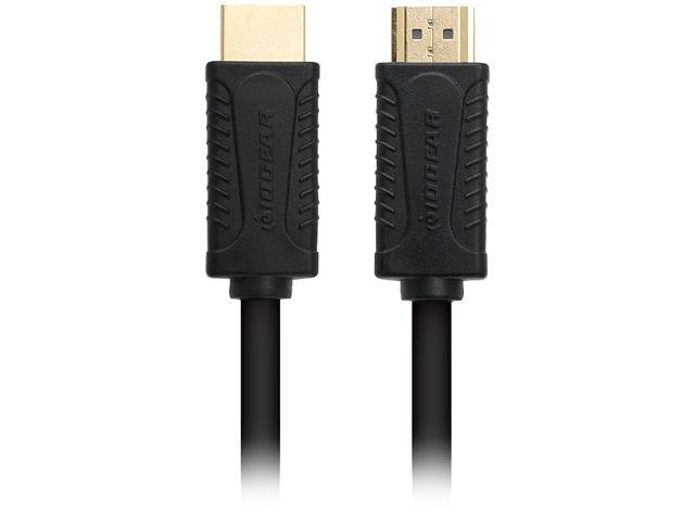 IOGEAR GHDC1405P 16.4 ft. (5 m) Black/Grey High Speed HDMI® Cable with Ethernet M-M