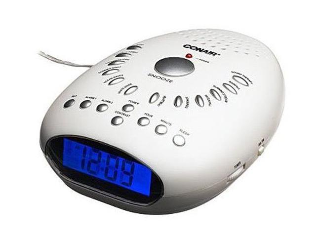CONAIR SU7 Infant Sound Therapy with Clock Radio
