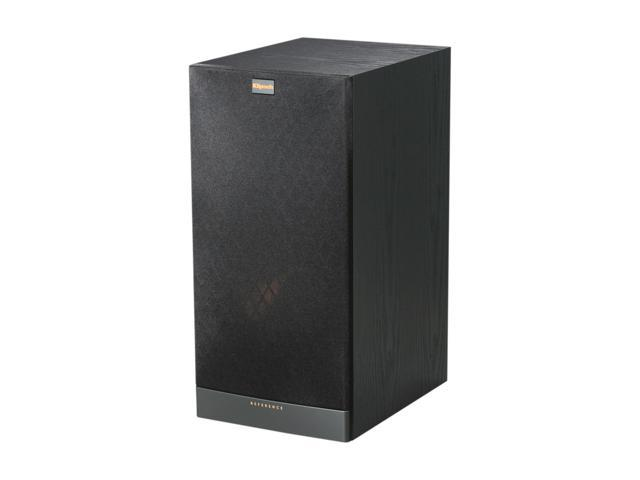Klipsch Reference RB-81 II B Bookshelf Speaker, Black Ash Wood Grain Vinyl Single
