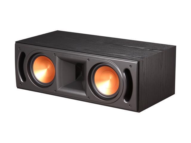 Klipsch Reference RC-62 II B Center Speaker, Black Ash Wood Grain Vinyl Each