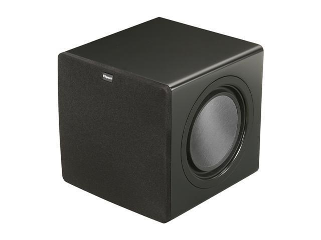Klipsch Reference SW-308 Subwoofer, Black Satin Each