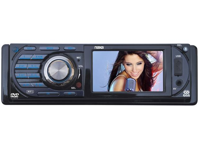 "Naxa In-Dash DVD Receiver w/ 3"" TFT LCD Model NCD-691"