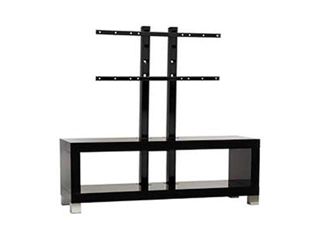 "OmniMount Moda Echo Series ECHO-50FP 32"" to 50"" High Gloss Black Moda Echo 50-Inch Video Table with Flat Panel Stand (Espresso)"