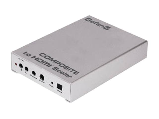 Gefen GTV-COMPSVID-2-HDMIS Composite to HDMI Scaler