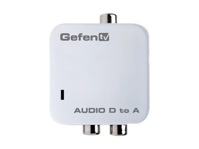 Gefen GTV-DIGAUD-2-AAUD Digital Audio to Analog Adapter