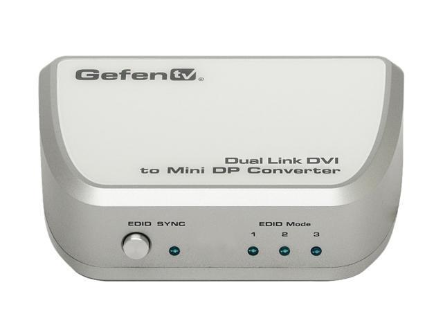 GefenTV GTV-DVIDL-2-MDP Dual Link DVI to Mini DP Converter