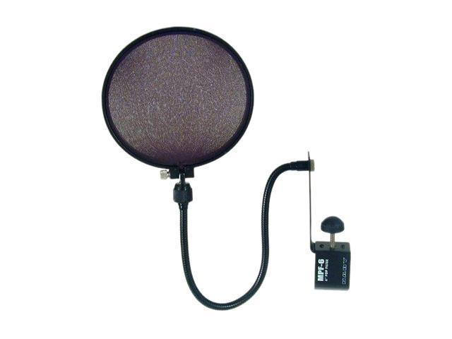 Nady MPF-6 6-Inch Microphone Pop Filter with Boom and Stand Clamp