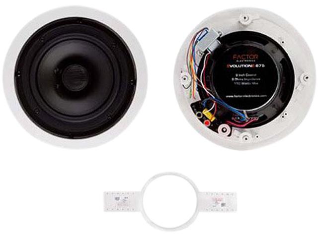 """Factor E675X 6.5"""" 10 W 25-70 V Ceiling Speaker Single"""