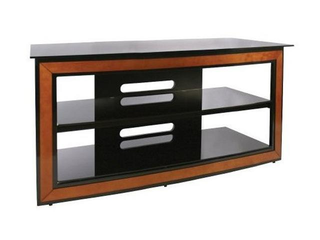 "Bell'O AVSC-2124 Up to 55"" Cherry & Black Versatile Audio/Video Furniture System"