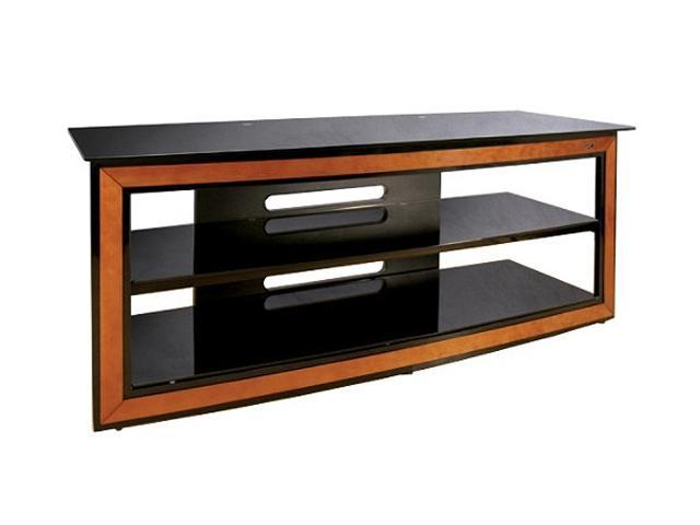 "Bell'O AVSC-2126 Up to 65"" Cherry & Black Versatile Audio/Video Furniture System"