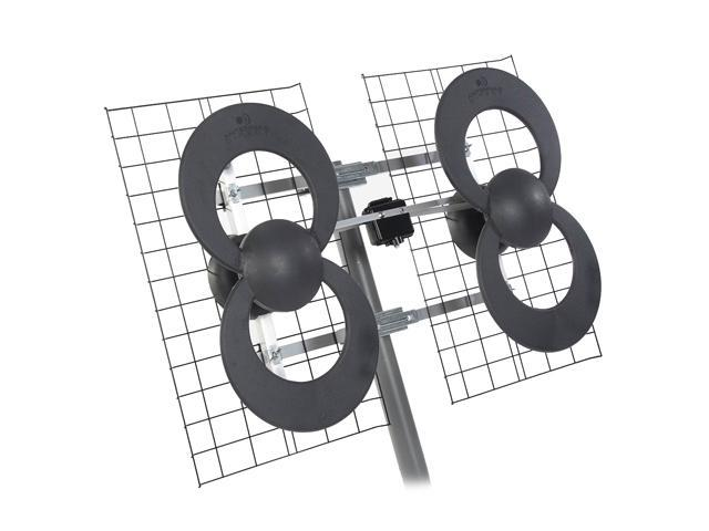 Antennas Direct C4 Outdoor Ultra Long-Range Digital TV (DTV) Antenna