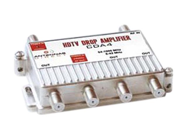 Antennas Direct CDA4 4 Way TV / CATV Distribution Amplifier