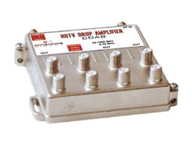 Antennas Direct CDA8 8 Way TV / CATV Distribution Amplifier