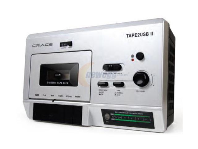 Grace GDI-T2USB200 Tape 2 USB II- USB cassette player w/ built in mic