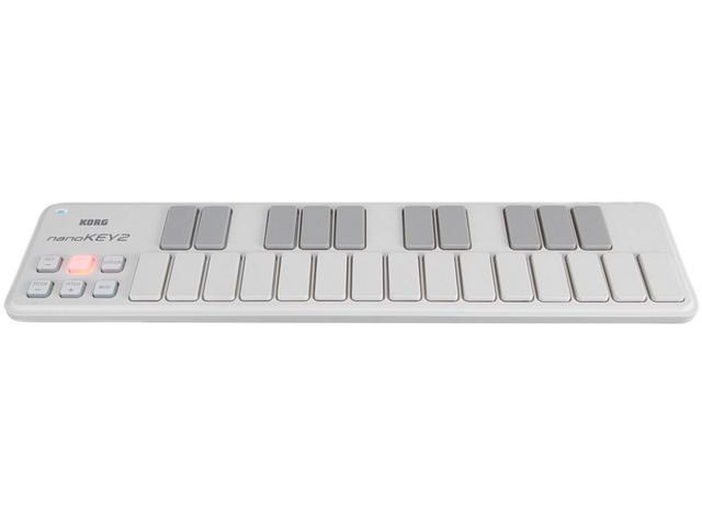 Korg Slim Line USB Keyboard Controller (White)