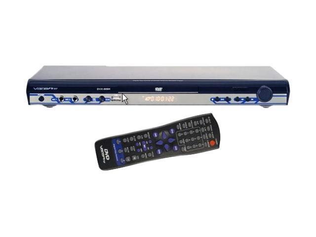 VocoPro DVX-668K Multi-Format USB/DVD/CD+G Karaoke Player