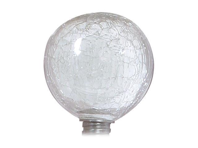 ALLSOP Solar-Powered Clear Globe Garden Art Light