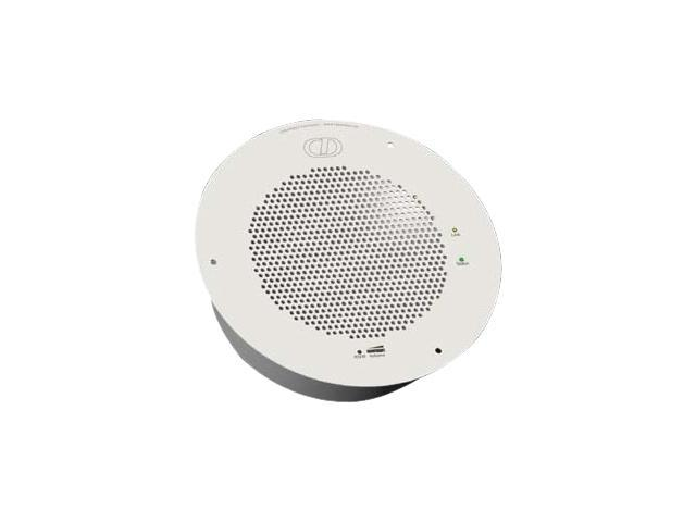CyberData Speaker - Gray White