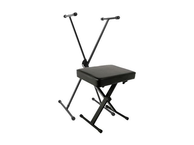 World Tour WOR SXKB PK Single X Keyboard Stand Deluxe Bench Package