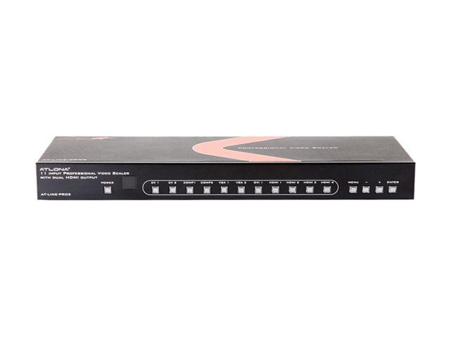AT-LINE-PRO5-GEN2 11 Input Scaler and Switcher w/Dual Mirrored Outputs
