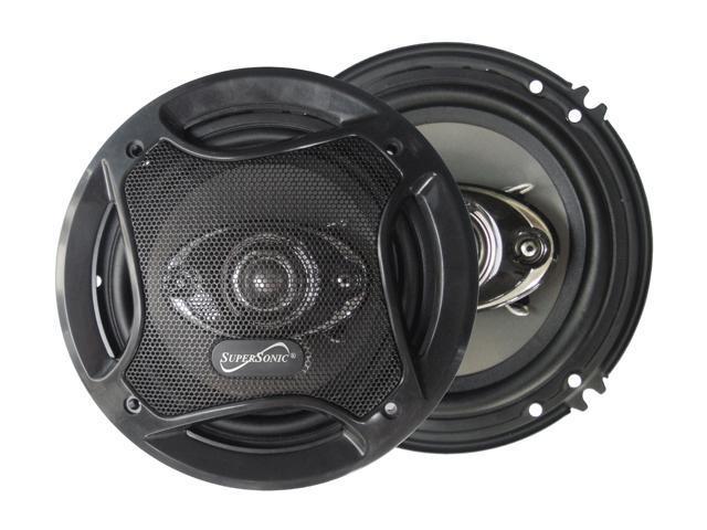 "Supersonic 6.5"" 800 Watts Peak Power 4-Way Car Speaker"