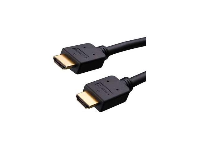 Vanco 277025X 25 ft. Black Installer Series High Speed HDMI® Audio/Video Cable with Ethernet -Bulk M-M