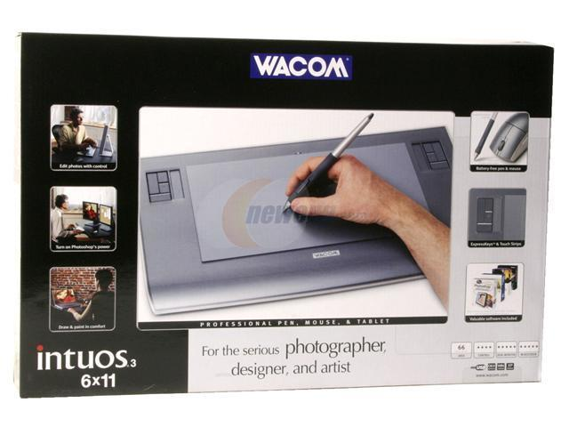 "Wacom Intuos3 PTZ631W 6"" x 11"" Active Area USB Tablet"