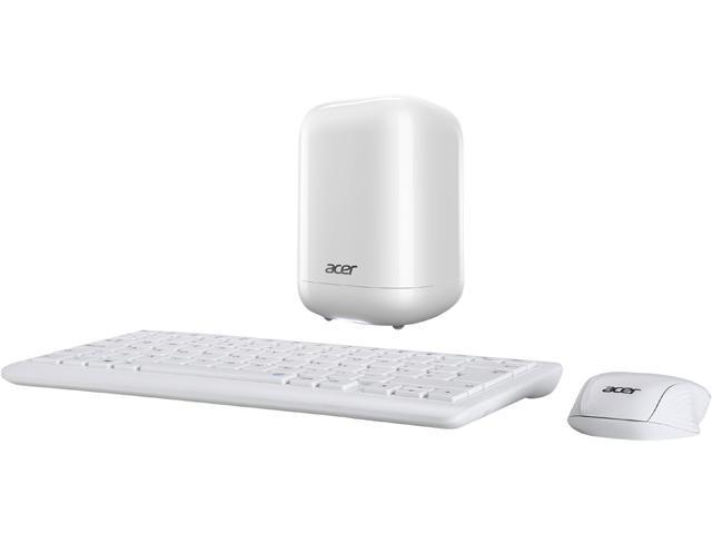 Acer Desktop PC Revo One RL85-UR51 Intel Core i3 5010U (2.10 GHz) 4GB DDR3L 1 TB HDD Intel HD Graphics Windows 10 Home 64-Bit