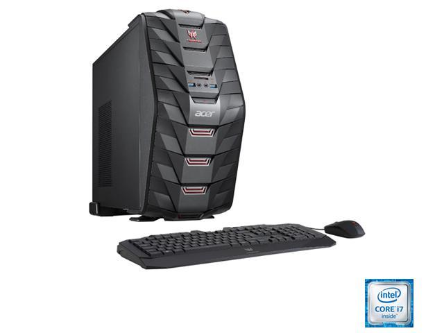 Acer Aspire Predator G3 AG3-710-UR54 Desktop Computer - Intel Core  i7-6700 3.40 GHz, 16 GB DDR4, 1 TB HDD, Windows 10 Home