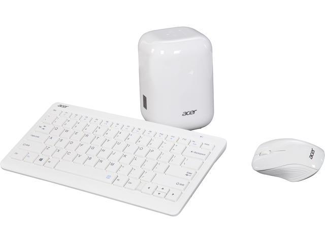 Acer Desktop Computer Revo One RL85-UR52 Intel Core i5 5th Gen 5200U (2.20 GHz) 8 GB DDR3L 1 TB HDD Intel HD Graphics 5500 Windows 10 Home 64-Bit