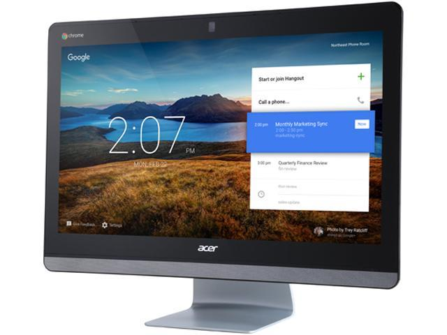 Acer All-in-One Computer Chromebase 24 CA24I-5T Intel Core i5 5th Gen 5200U (2.20 GHz) 8 GB DDR3L 32 GB SSD 23.8