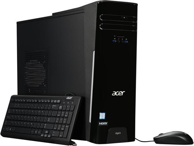 Acer Desktop Computer Aspire ATC-780-UR11 Intel Core i7 6th Gen 6700 (3.4 GHz) 16 GB DDR4 1 TB HDD Intel HD Graphics 530 Windows 10 Home 64-Bit