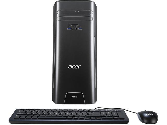 Acer Desktop Computer Aspire AT3-710-UR52 Intel Core i5 6th Gen 6400 (2.7 GHz) 8 GB DDR3 2 TB HDD Intel HD Graphics 530 Windows 10 Home