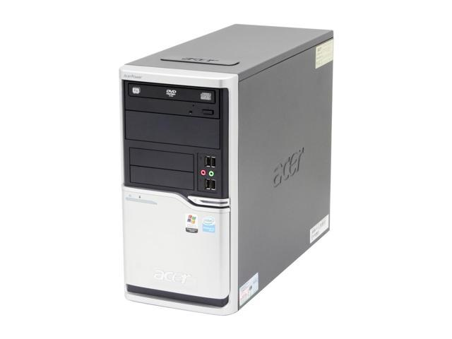 Acer Power APFH-EP9250P Desktop PC Pentium D 925(3.0GHz) 1GB DDR2 160GB HDD Capacity Intel GMA 3000 Windows XP Professional