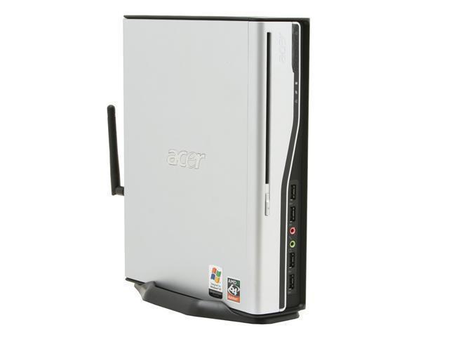 Acer Power AP1000-UA382P Desktop PC Athlon 3800+ 512MB DDR2 80GB HDD Capacity NVIDIA GeForce 6150 Windows XP Professional
