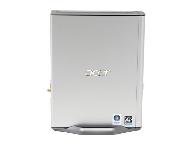 Acer ASL100-UD380A Desktop PC Athlon 64 X2 3800+ 1GB DDR2 250GB HDD Capacity NVIDIA GeForce 6150 Windows Vista Home Premium