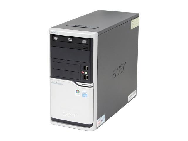 Acer Power FH APFH-EP9150C Desktop PC Pentium D 915(2.8GHz) 1GB DDR2 160GB HDD Capacity Intel GMA 3000 Windows Vista Business
