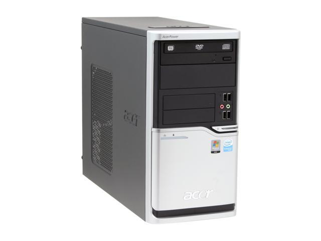 Acer Power APFH-EP6310C Desktop PC Pentium 4 631(3.0GHz) 512MB DDR2 80GB HDD Capacity Intel GMA 3000 Windows Vista Business
