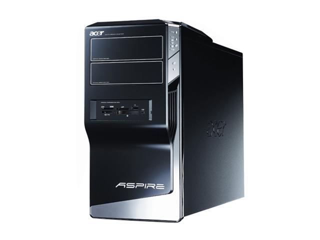 Acer Desktop PC Aspire AM5641-U5520A Pentium Dual Core E2200 (2.20 GHz) 4 GB DDR2 500 GB HDD NVIDIA GeForce 7100 Windows Vista Home Premium 64-bit