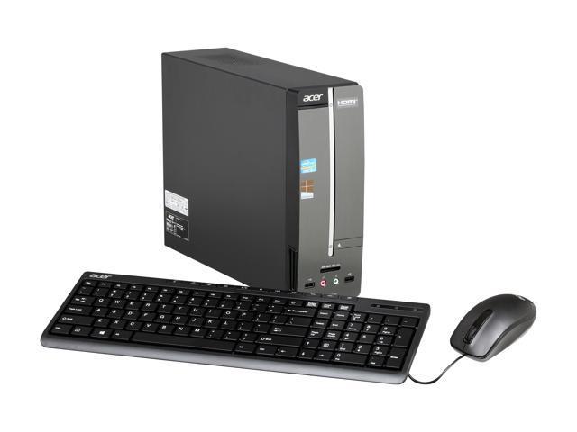 Acer Desktop PC Aspire AXC600-UR318 (DT.SLJAA.002) Intel Core i3 2130 (3.40 GHz) 6 GB DDR3 1 TB HDD Intel HD Graphics 2000 Windows 8