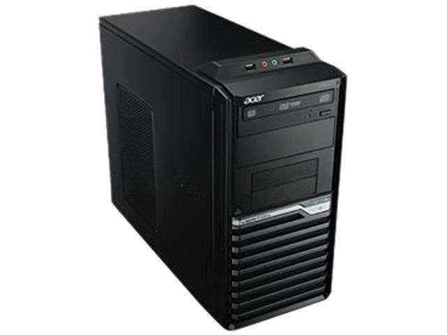 Acer Veriton Desktop PC Intel Core i5 Standard Memory 4 GB Memory Technology DDR3 SDRAM 500GB HDD No Windows 7 Professional
