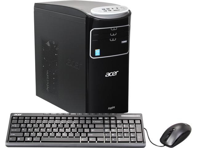 Acer Desktop PC AT3-605-UR21 (DT.SPYAA.002) Intel Core i7 4770 (3.40 GHz) 12 GB DDR3 1 TB HDD Windows 8 64-Bit