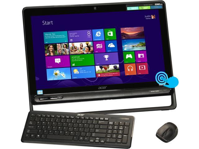 "Acer All-in-One PC Aspire AZ3-605-UR23 (DQ.SQPAA.001) Intel Core i5 3337U (1.80 GHz) 8 GB DDR3 1 TB HDD 23"" Touchscreen Windows ..."