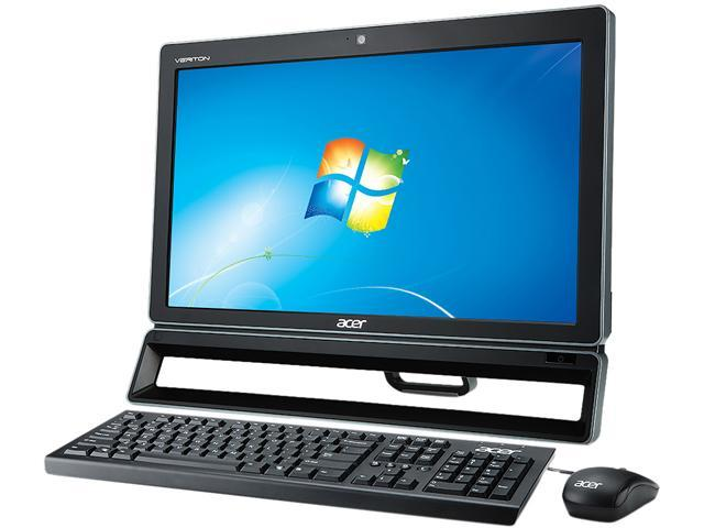 "Acer All-in-One PC Veriton Z VZ4620G-UG2020W (DQ.VEFAA.003) Pentium G2020 (2.90 GHz) 4 GB DDR3 500 GB HDD 21.5"" Windows 7 ..."